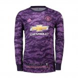 Maillot Manchester United Gardien Domicile Manches Longues 2019-2020