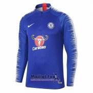 Sweat Chelsea 2018-2019 Bleu