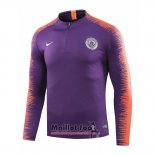 Sweat Manchester City 2018-2019 Purpura
