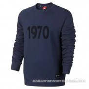 Sweat Paris Saint-Germain 1970 Noir