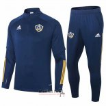 Ensemble Survetement Sweat Los Angeles Galaxy 2020 Bleu