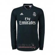 Maillot Real Madrid Exterieur Manches Longues 2018-2019