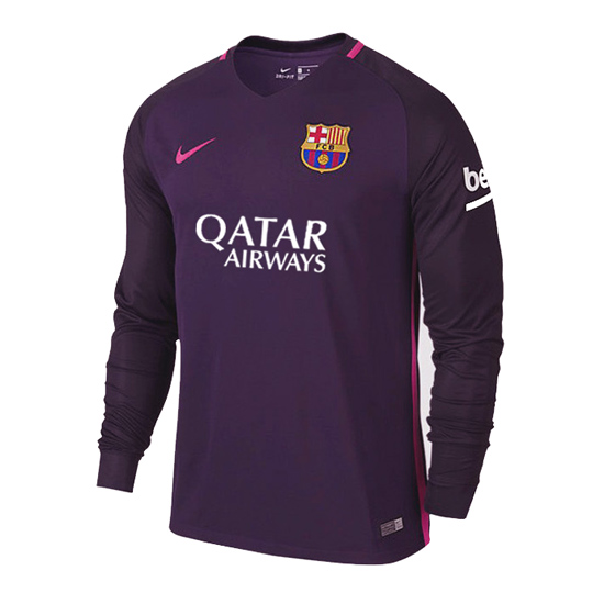 Maillot barcelone ext rieur 2016 2017 ml for Barcelone maillot exterieur