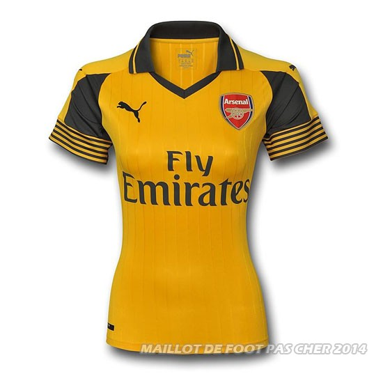 Maillot arsenal ext rieur femme 2016 2017 for Arsenal maillot exterieur 2013