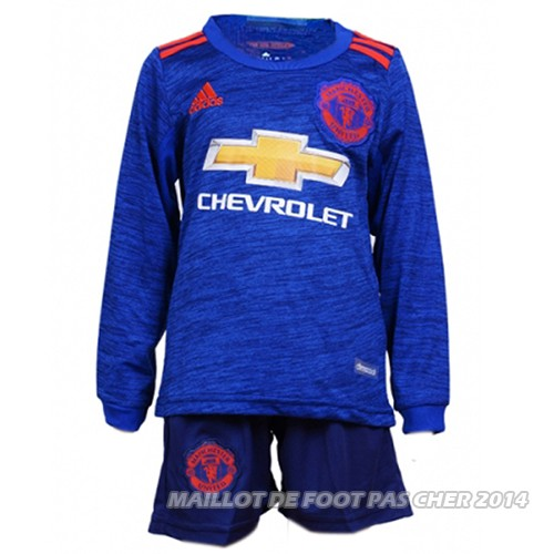 Maillot manchester united ext rieur enfant 2016 2017 ml for Manchester united exterieur