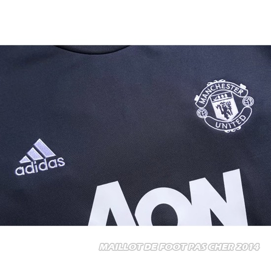 Sweat Manchester United 2017/2018 Gris2