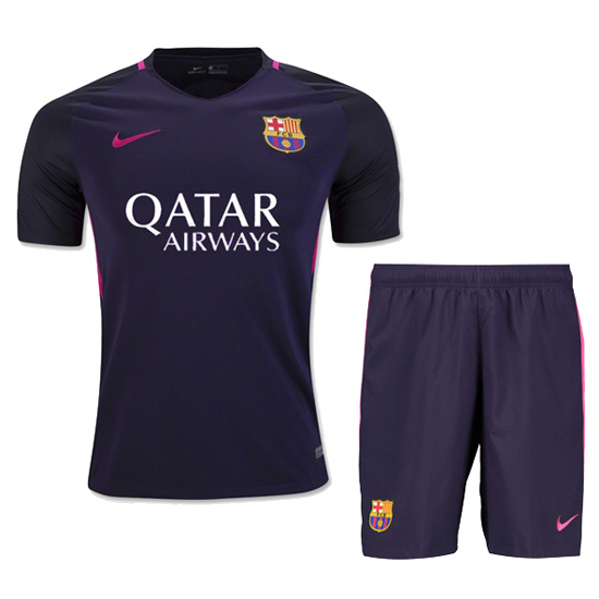 Maillot barcelone ext rieur 2016 2017 enfant for Maillot barcelone exterieur